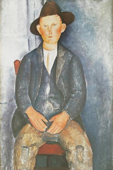 The Little Peasant-Amedeo Modigliani-Giclee Print