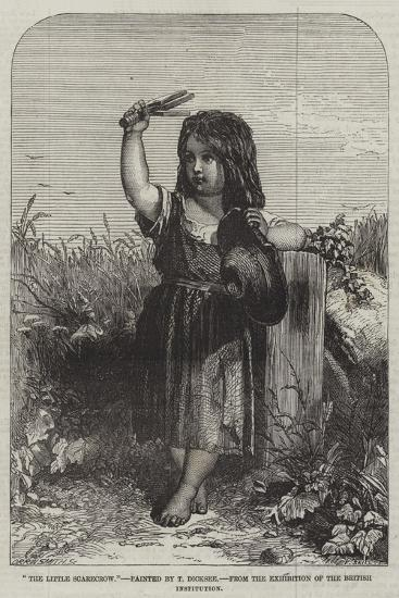 The Little Scarecrow, from the Exhibition of the British Institution-Thomas-Francis Dicksee-Giclee Print