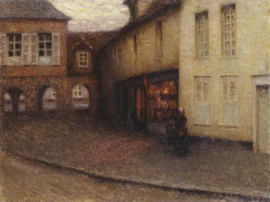 The Little Shop, Gerberoy; La Petit Boutique, Gerberoy, C.1906-Henri Eugene Augustin Le Sidaner-Giclee Print
