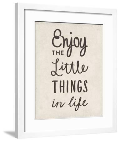 The Little Things-Clara Wells-Framed Giclee Print