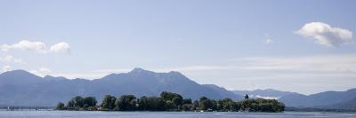 The Little Vacation Island of the Fraueninsel in the Chiemsee Lake, Fraueninsel, Chiemsee, Germany-Taylor S^ Kennedy-Photographic Print