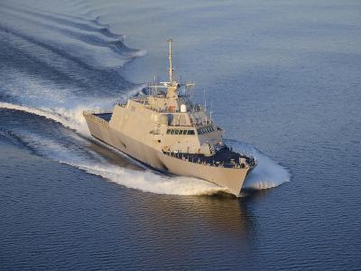 The Littoral Combat Ship Pre-Commissioning Unit Fort Worth-Stocktrek Images-Photographic Print