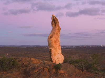 The Living Desert Sculptures, Broken Hill, New South Wales, Australia, Pacific-Jochen Schlenker-Photographic Print