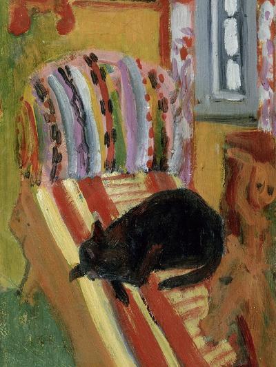 The Living Room, 1920-Ernst Ludwig Kirchner-Giclee Print