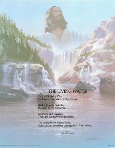 The Living Water-Danny Hahlbohm-Art Print