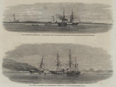 The Livingstone Expedition--Giclee Print