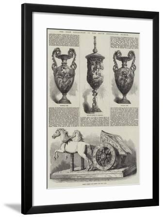 The Loan Collection in the South Kensington Museum--Framed Giclee Print