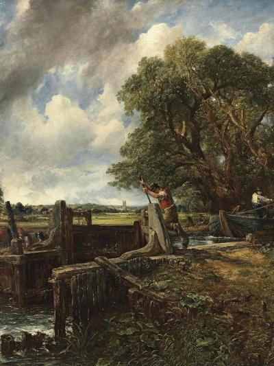The Lock-John Constable-Giclee Print