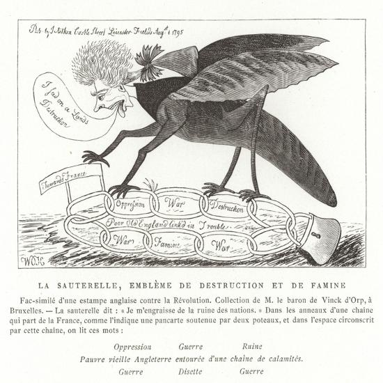 The Locust, Emblem of Destruction and Famine--Giclee Print
