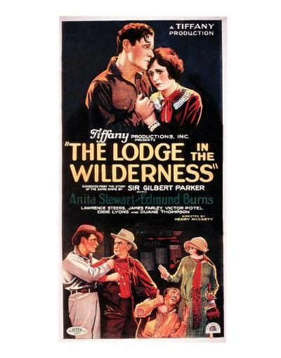 The Lodge In The Wilderness - 1926 I--Giclee Print