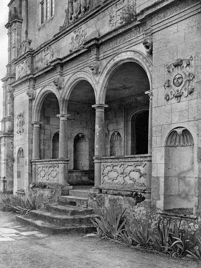 The Loggia, Cranborne Manor House, Dorset, 1924-1926-E Bastard-Giclee Print