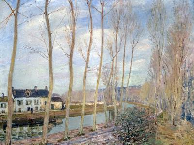 The Loing Canal, 1892-Alfred Sisley-Giclee Print