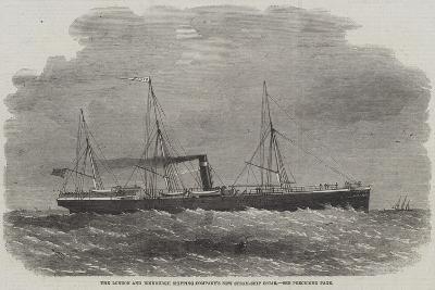 The London and Edinburgh Shipping Company's New Steam-Ship Oscar-Edwin Weedon-Giclee Print