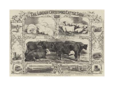 The London Christmas Cattle Show of 1858-Harrison William Weir-Giclee Print