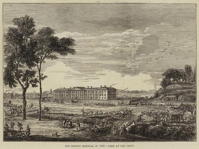 The London Hospital in 1753--Giclee Print