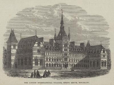 The London International College, Spring Grove, Hounslow--Giclee Print