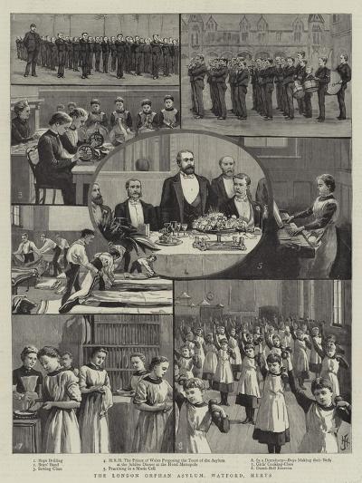 The London Orphan Asylum, Watford, Herts--Giclee Print