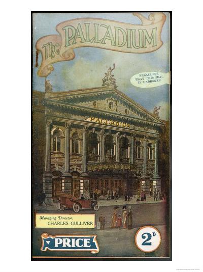 The London Palladium--Giclee Print
