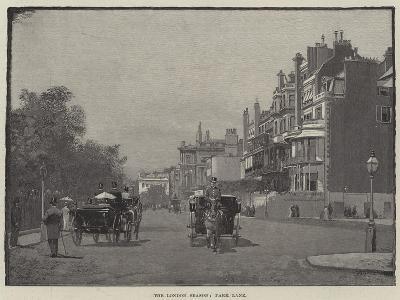 The London Season, Park Lane--Giclee Print