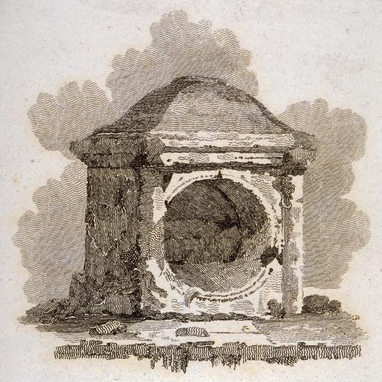 The London Stone, Cannon Street, City of London, 1806-William Bernard Cooke-Giclee Print