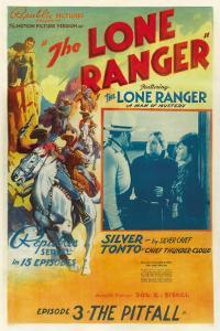 The Lone Ranger, Lee Powell,, Chief Thundercloud, in 'Episode 3: the Pitfall', 1938, Serial