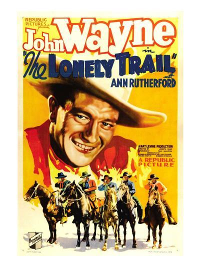 The Lonely Trail, John Wayne, 1936--Photo