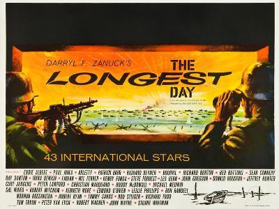 THE LONGEST DAY--Art Print