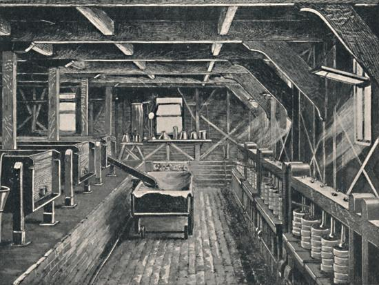 'The Longford Cheese Factory, Derbyshire', c1881, (1904)-Unknown-Giclee Print