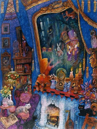 The Looking Glass-Bill Bell-Giclee Print