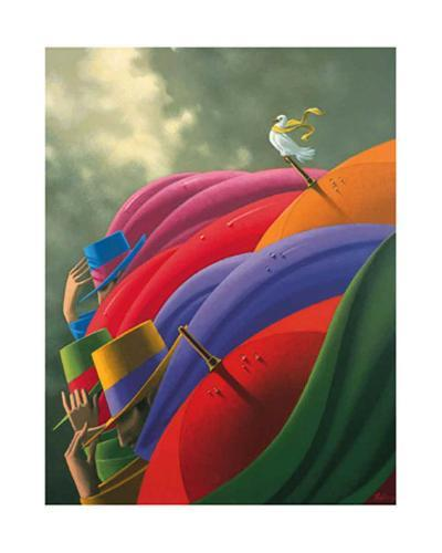 The Lookout-Claude Theberge-Art Print