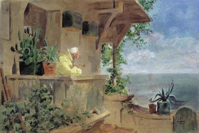 The Lookout-Carl Spitzweg-Giclee Print