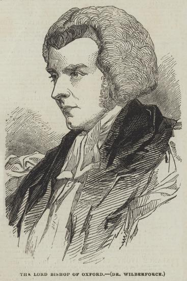 The Lord Bishop of Oxford, Dr Wilberforce--Giclee Print