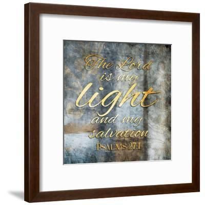 The Lord is My Light-Jace Grey-Framed Art Print