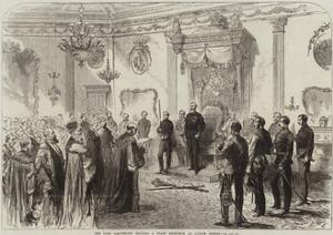 The Lord Lieutenant Holding a State Reception at Dublin Castle