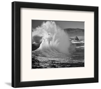 The Lord Reigns-Dennis Frates-Framed Art Print
