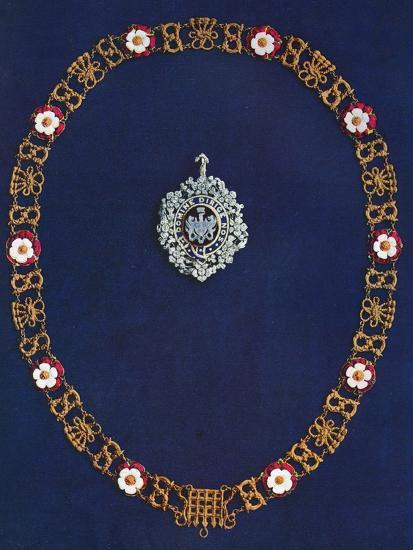 The Lord's Mayor's Badge and Collar, 1916-Unknown-Photographic Print
