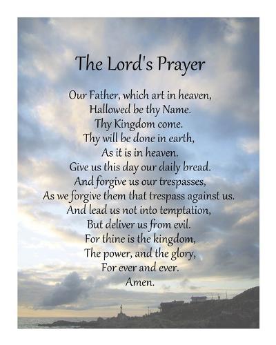 The Lord's Prayer - Scenic-Veruca Salt-Art Print