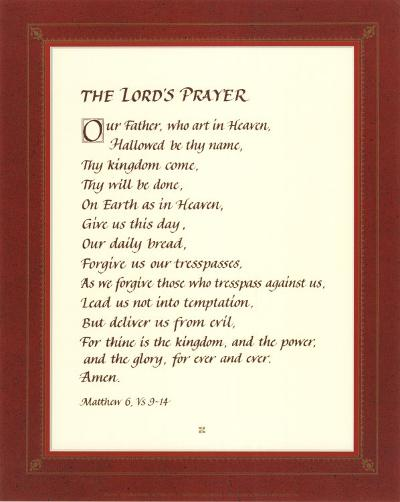 The Lord's Prayer--Art Print