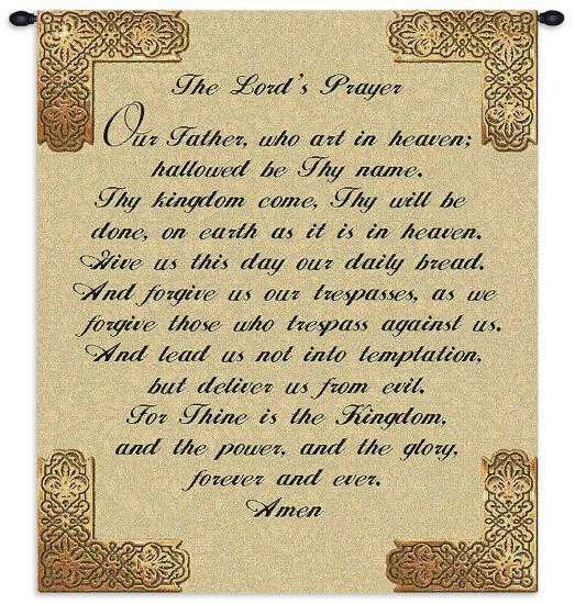 The Lord's Prayer--Wall Tapestry