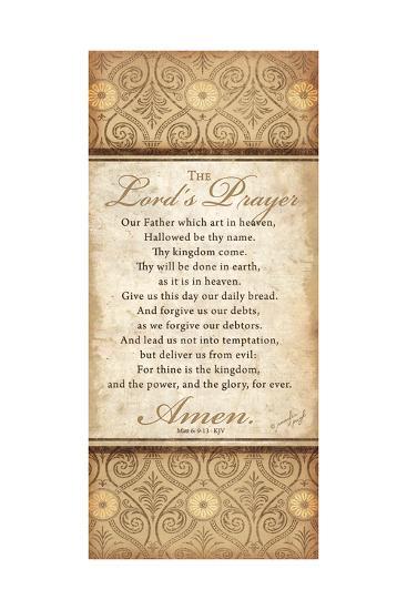 The Lord's Prayer-Jennifer Pugh-Art Print