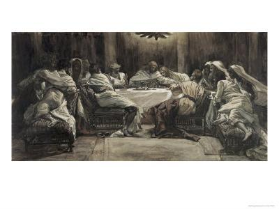 The Lord's Supper-James Tissot-Giclee Print
