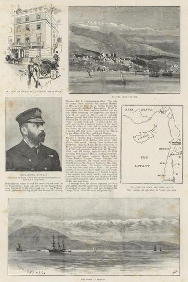 The Loss of HMS Victoria--Giclee Print