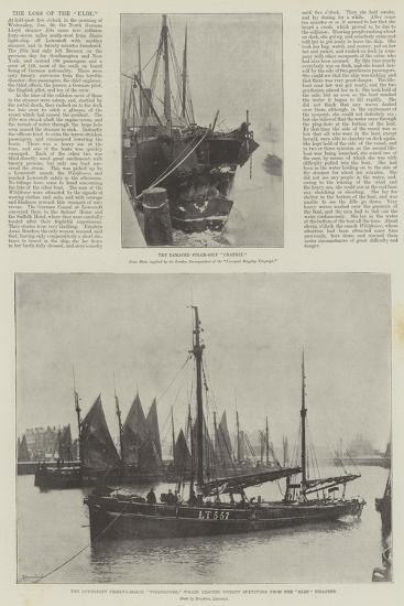 The Loss of the Elbe--Giclee Print