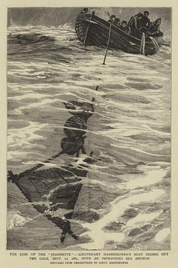 The Loss of the Jeannette-William Lionel Wyllie-Giclee Print