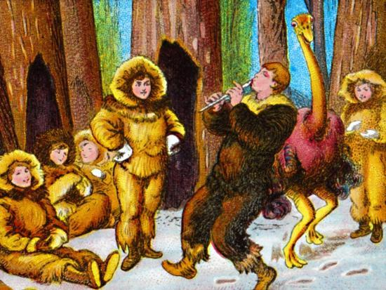 'The lost boys', c1905-Unknown-Giclee Print