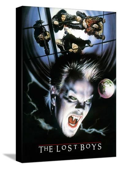 The Lost Boys--Stretched Canvas Print