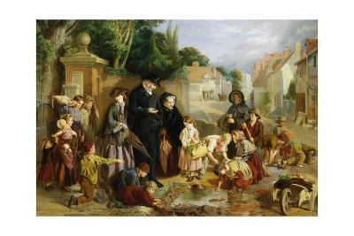 The Lost Change-William Henry Knight-Giclee Print