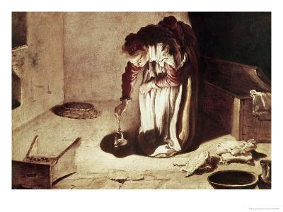The Lost Coin-Domenico Fetti-Giclee Print