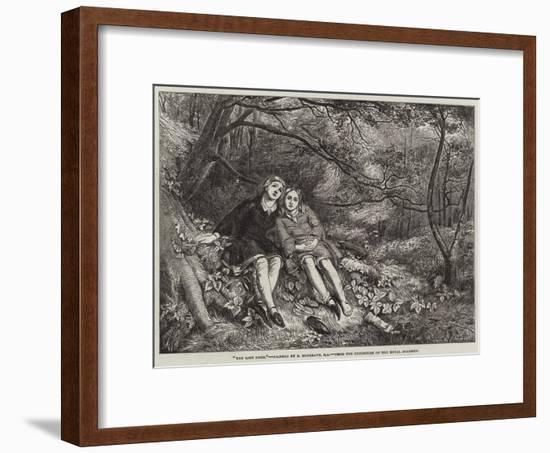 The Lost Path-Richard Redgrave-Framed Premium Giclee Print