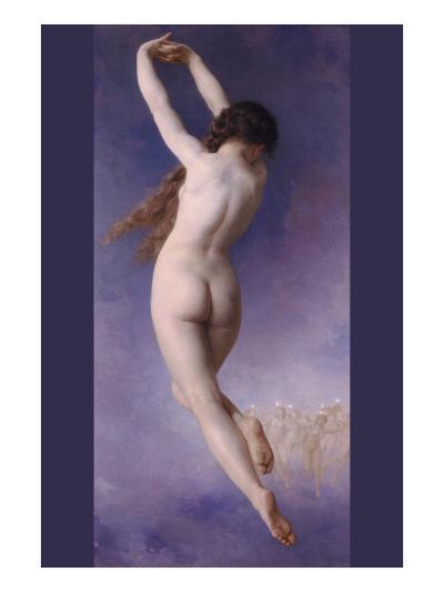 The Lost Pleiad-William Adolphe Bouguereau-Art Print
